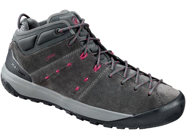 Mammut W's Hueco Mid GTX Shoes graphite-beet